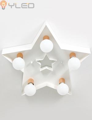 LED방등 듀얼스타5등-화이트