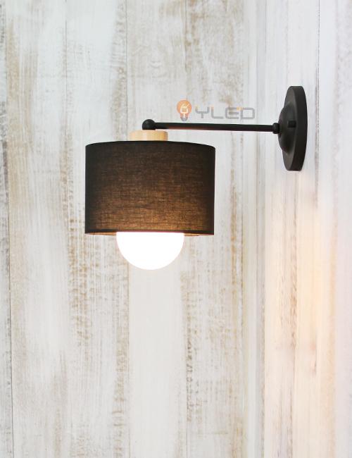 LED벽등 윈드밀1등-블랙