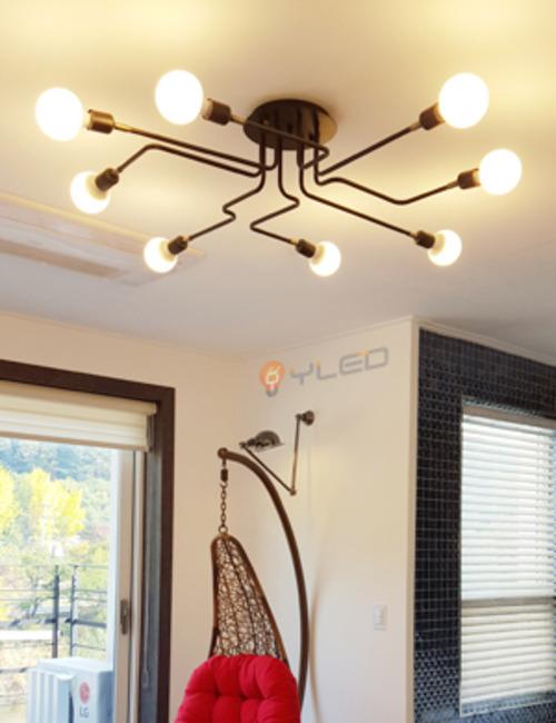 LED거실등 와이메트로8등